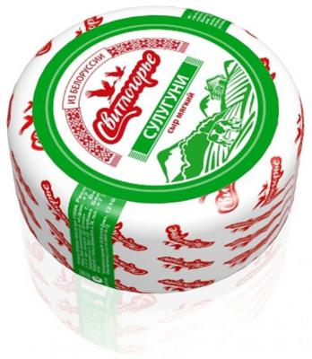 Сыр Сулугуни Свитлогорье 45% 300г БЗМЖ