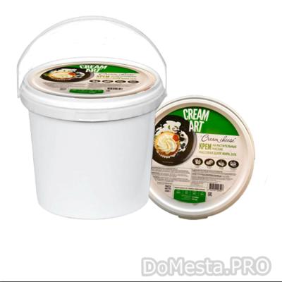 Крем на растительных маслах CREAM CHEESE, 26%, 1 кг.