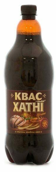 Квас «Хатнi» тёмный, 1,4 л, Беларусь, веган