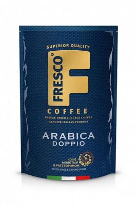 Кофе FRESCO Arabica Doppio сублим с доб молотого 190г