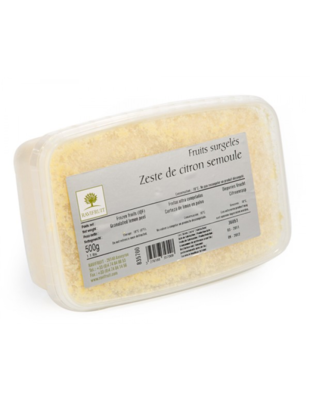 Цедра лимона 0,5 кг, Франция, Ravifruit