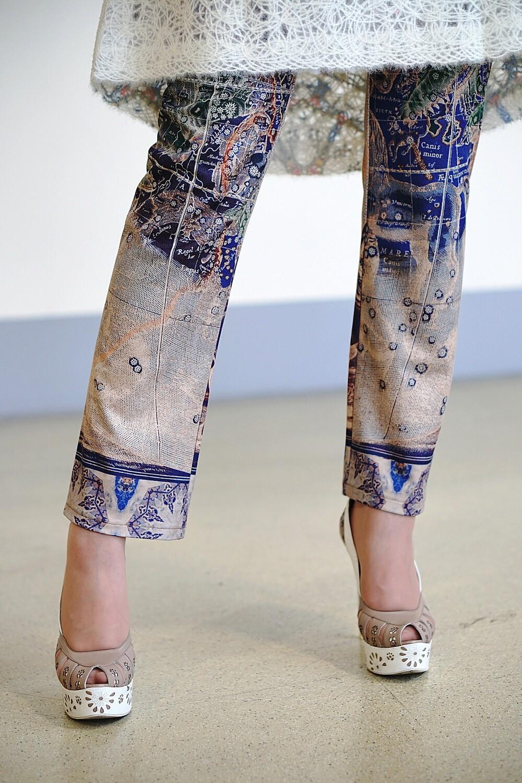 Узкие брюки «Звездный атлас»