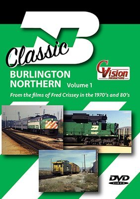 Classic Burlington Northern, Volume 1