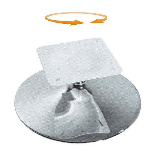 Поворотная база хромированная сталь  Ø 550 mm