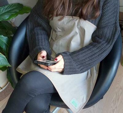 ΗΒ Wireless Belly Shield - Κάλυμμα προστασίας από ασύρματες ακτινοβολίες laptop,tablet, smartphone (Wi-Fi) κ.α. 00074