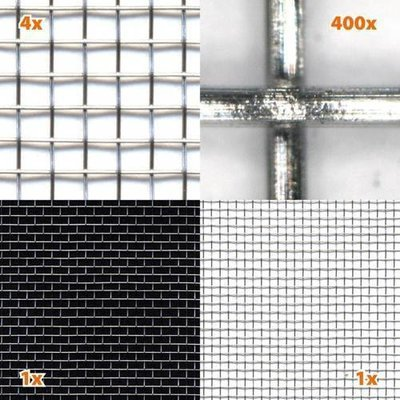 Πλέγματα ηλεκτρομαγνητικής θωράκισης από ανοξείδωτο ατσάλι V4A10, V4A03 00058