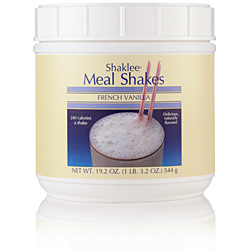 Shaklee Meal Shakes, French Vanilla