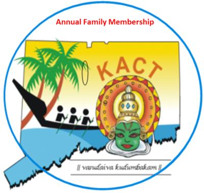 KACT Annual Family Membership (Valid until Aug 01-2020)