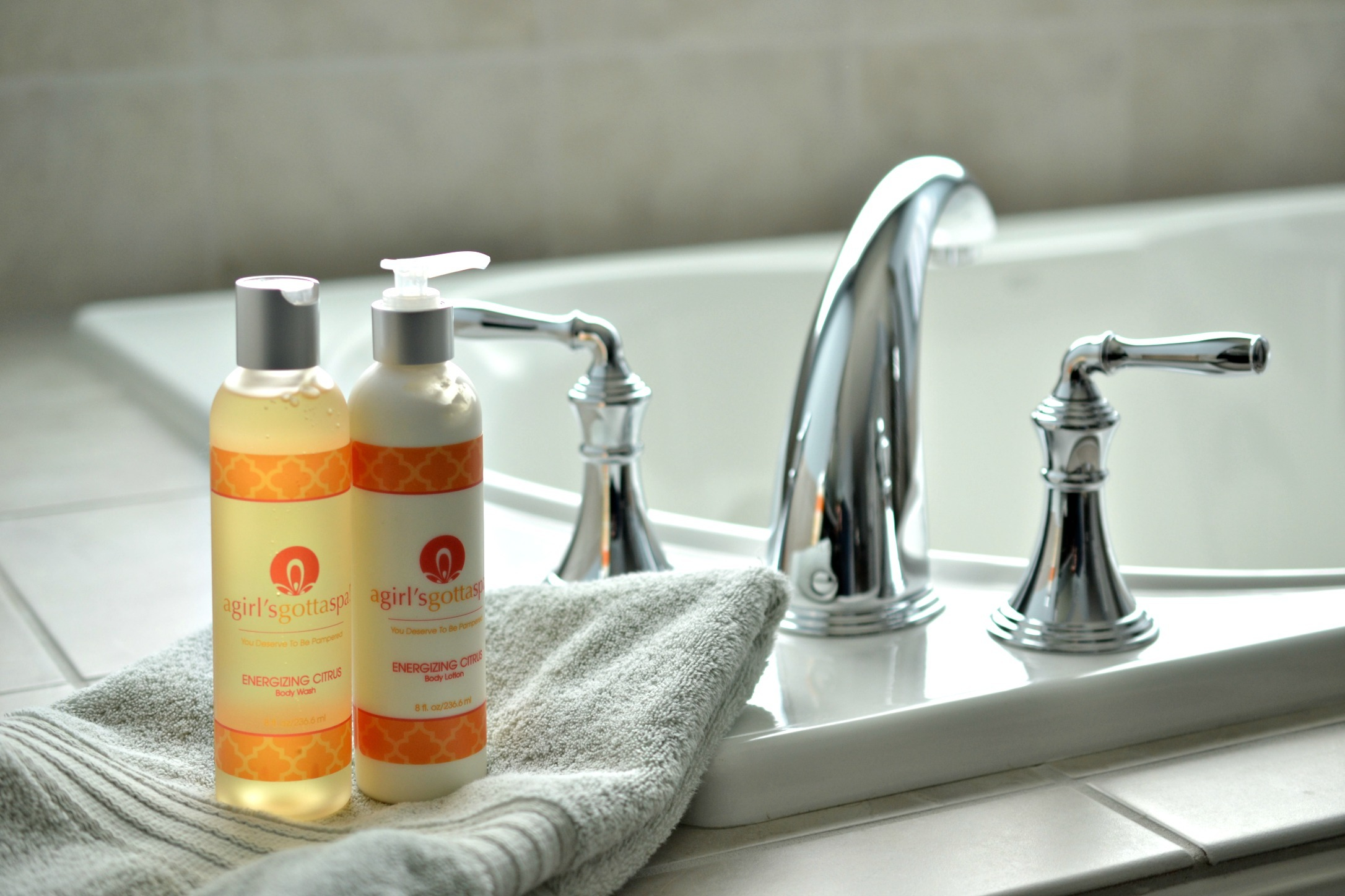 Energizing Citrus Body Wash