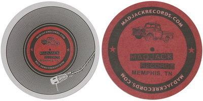MADJACK Records Coasters 25 Pack