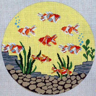 Round Fish (Handpainted from J. Child Designs)