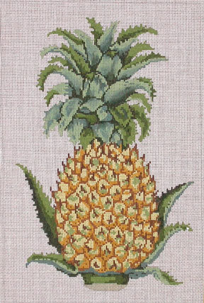 Pineapple     (handpainted by All About Stitching)