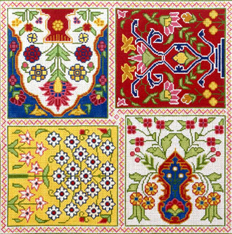 Persian Garden (Handpainted from Canvasworks/Traditions)