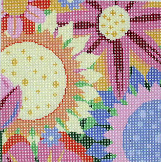 Large Sunshine Flowers    (handpainted by Jean Smith)