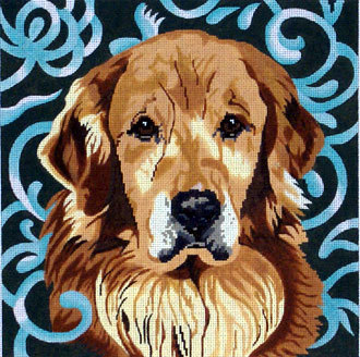 Golden Retriever    (Handpainted by Barbara Russell Designs)