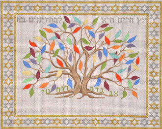 Tree of Life for Those Who Grasp It      (handpainted bySusan Roberts)