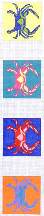 Crab 1 Coasters (Handpainted by The Point of It All Designs)