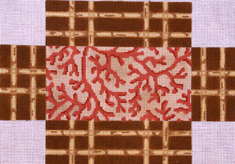 Coral Lattice Brick Cover (Handpainted by  Associated Talents)