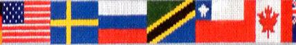 Nations Belt (Handpainted by Cooper Oaks Design)
