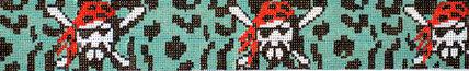 Pirate Man Belt (Handpainted by Voila)