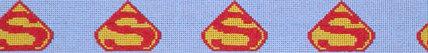 Superman Belt (Handpainted by Voila!)