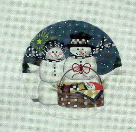 Snow Family (Handpainted by Danji Designs)