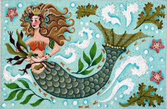 Mermaid     (handpainted by Melissa Shirley)
