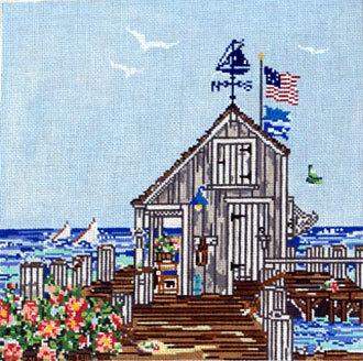 Sailing the Vineyard (Handpainted by Cooper Oaks Design)