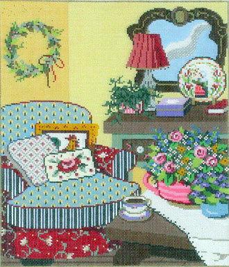 Ma Maison      (handpainted from Sandra Gilmore)