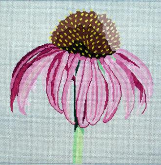 Regal Cornflower   (handpainted by Jean Smith)