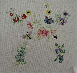 Baby Flower Frog (Handpainted by CBK Needlepoint Collection)