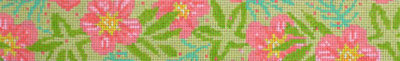 Hibiscus Pastel Belt (Handpainted by Voila)