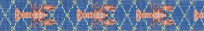 Lobsters in Net Belt  (Handpainted by Susan Roberts Designs)