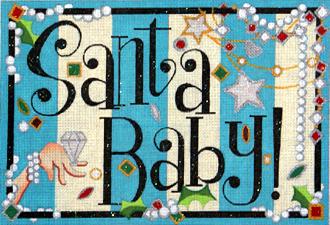 Santa Baby (Handpainted by Raymond Crawford Designs)