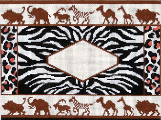 African Animals (Handpainted by The Point Of It All Designs)