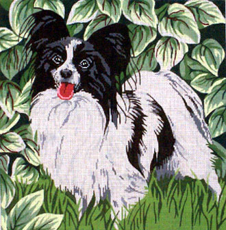 Papillion      (Handpainted by Barbara Russell Designs)