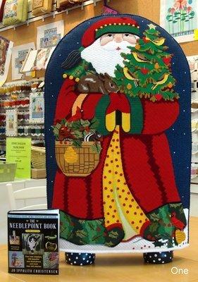 Fireside Santa, front,  by Mellisa Shirley