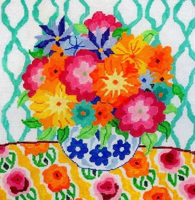Matisse Table   #12     (handpainted by Jean Smith)