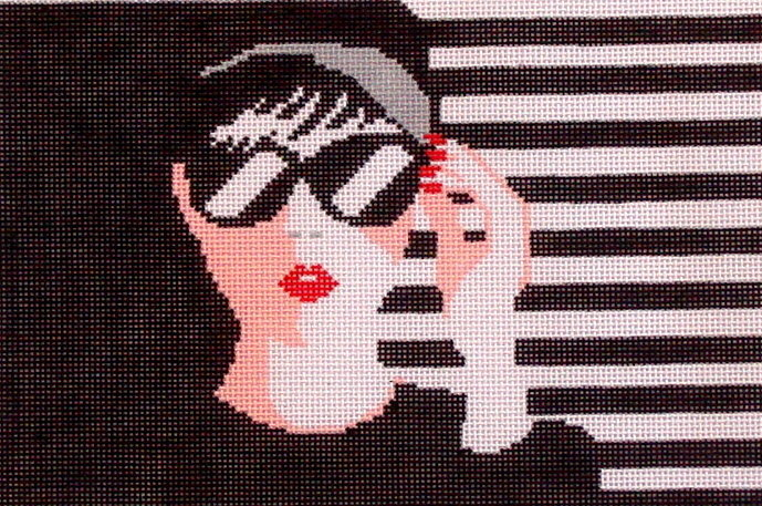 Audrey     (handpainted from Voila))