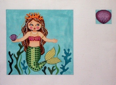 Mermaid Toothfairy Pillow      (Gayla Elliot)