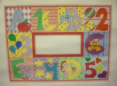 Pastel ABC & 123  ( Handpainted by Alice Peterson Company)