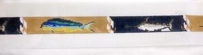 Deep Sea Camel Belt (Handpainted by Walker Street Designs)