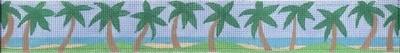 Palm Beach Belt (Handpainted by Jane Nichols Designs)