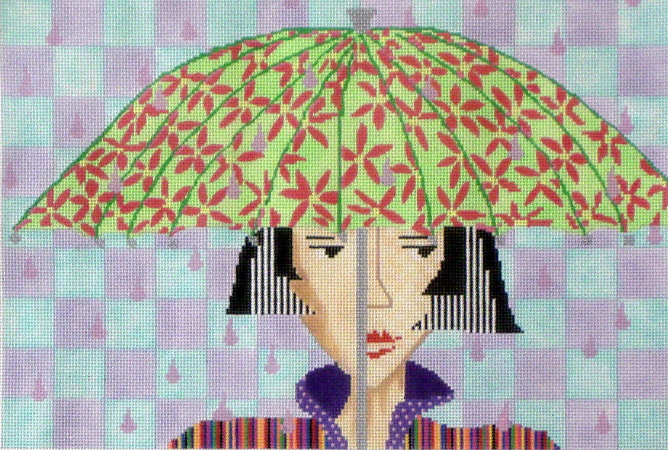 Raindrops  (Handpainted by Penny McLeod)
