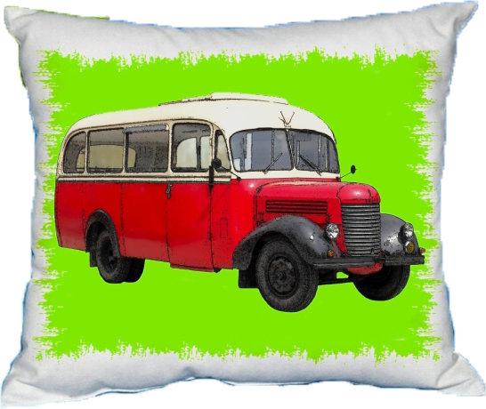 Polštářek Autobus Starý