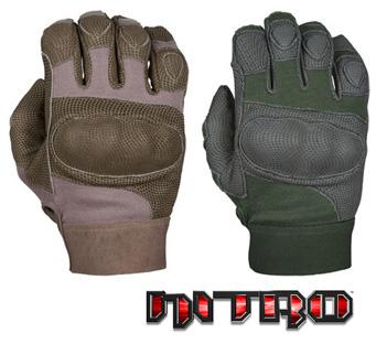 NITRO™ - Cut Resistant digital leather & Carbon-Tek™ fiber knuckles