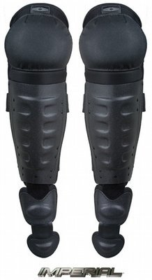 Hard Shell Knee/Shin Guards w/ Non-slip knee caps