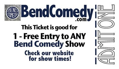 Gift Certificate - Any Bend Comedy Show