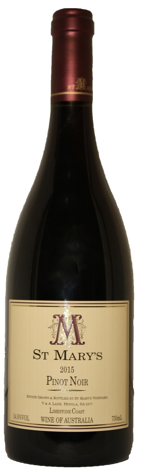 St Mary's Wines 2016 Pinot Noir