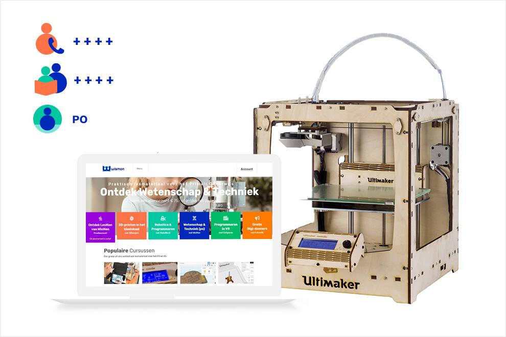 3Dkanjers 3D-Experience - inclusief DIY 3D-printer (PO, VO en SO)